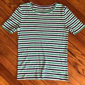 J Crew Perfect Fit Stripe Tee